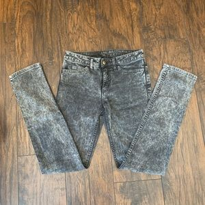"American Apparel Gray Acid Wash Jean ""Slim Slack"""